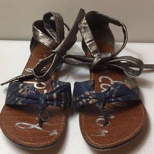 Sam Edelman Gracie ankle tie sandals